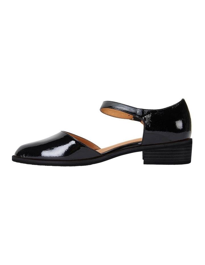 Jesinta Black Patent Flat Shoes image 3