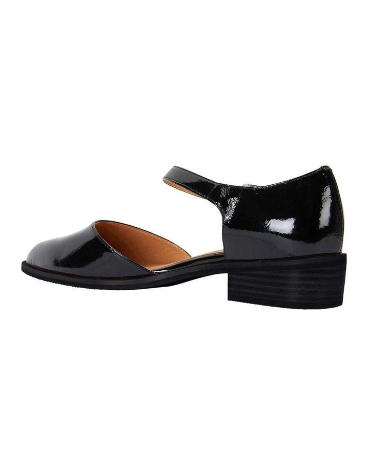Jesinta Black Patent Flat Shoes image 4