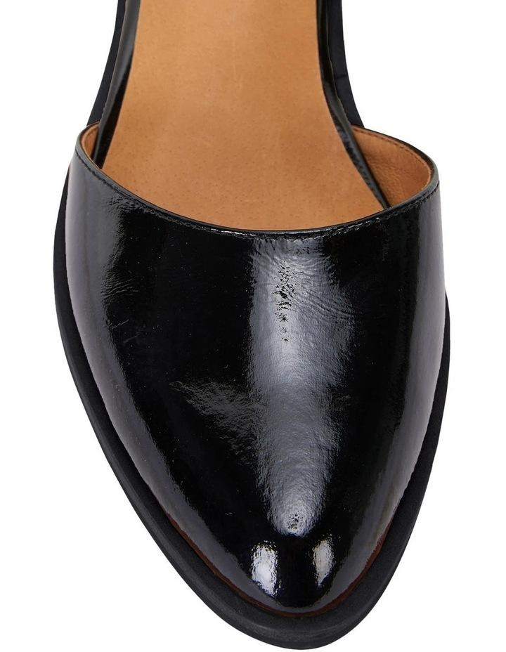 Jesinta Black Patent Flat Shoes image 5