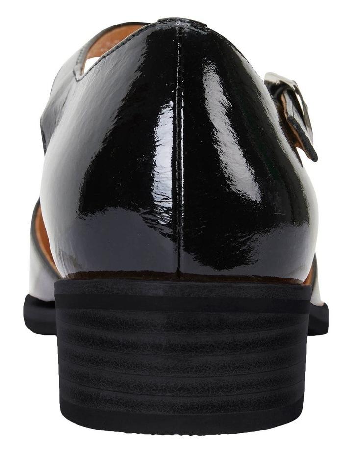 Jesinta Black Patent Flat Shoes image 7
