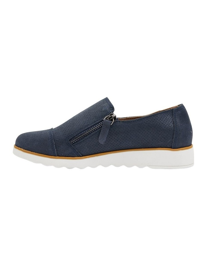 Dean Navy Combo Flat Shoes image 3