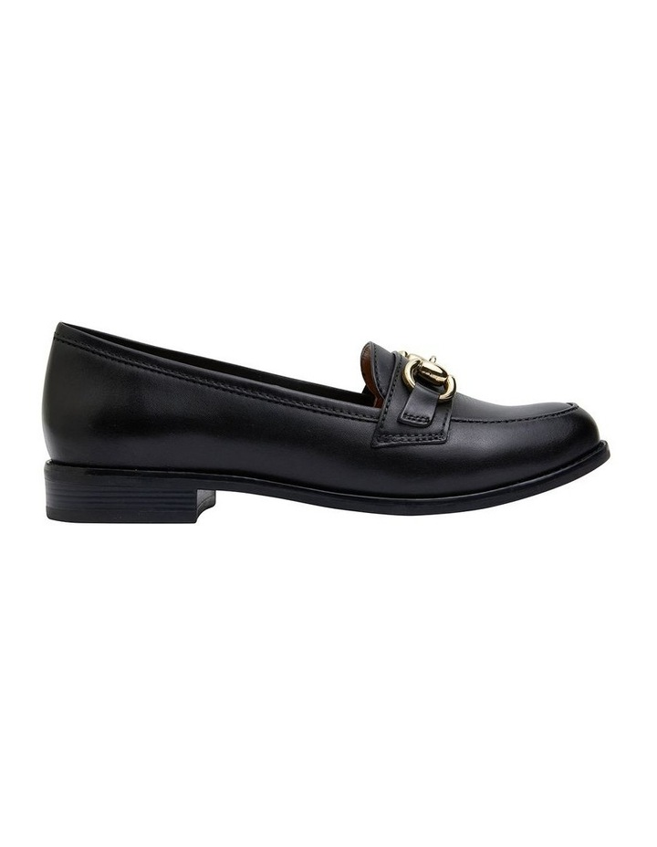 Gala Black Glove Flat Shoes image 1