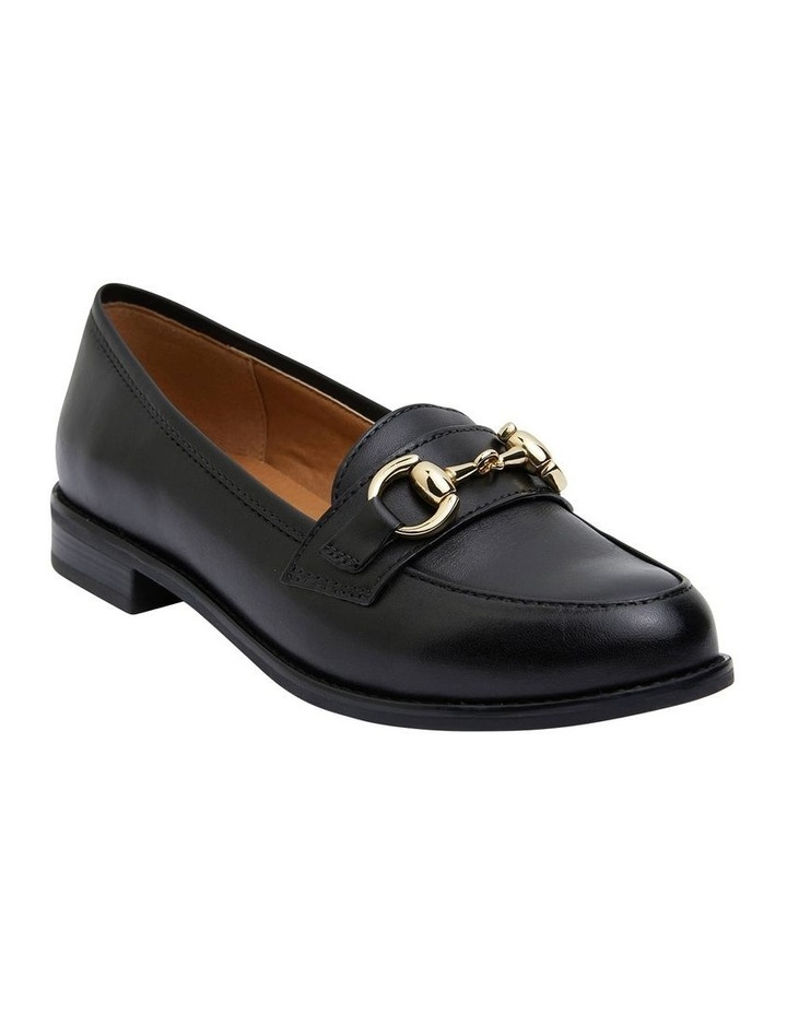 Gala Black Glove Flat Shoes image 2
