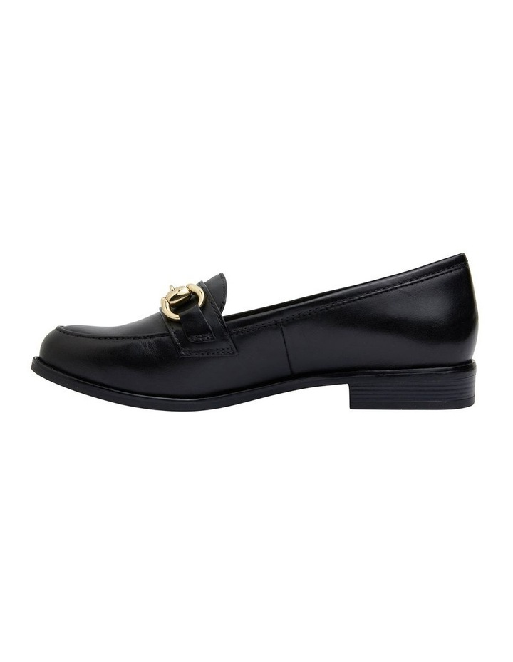 Gala Black Glove Flat Shoes image 3