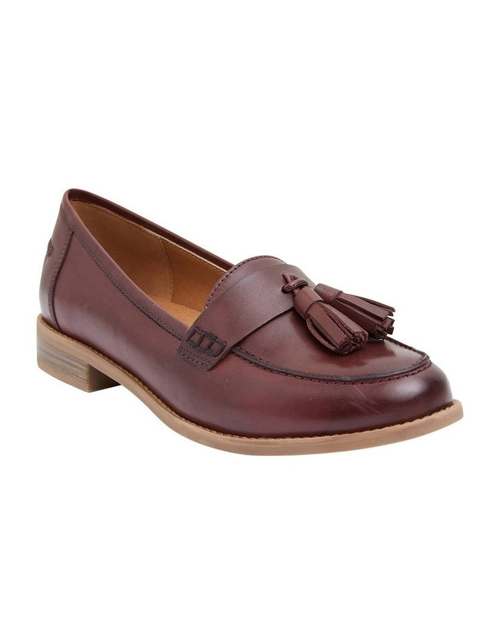 Gazebo Burgundy Glove Flat Shoes image 2