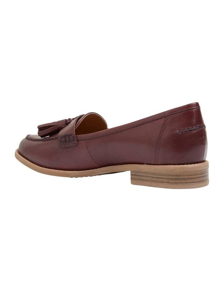 Gazebo Burgundy Glove Flat Shoes image 4