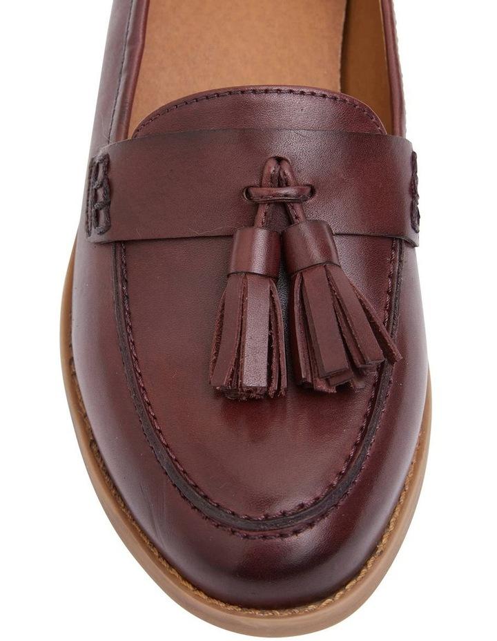 Gazebo Burgundy Glove Flat Shoes image 5