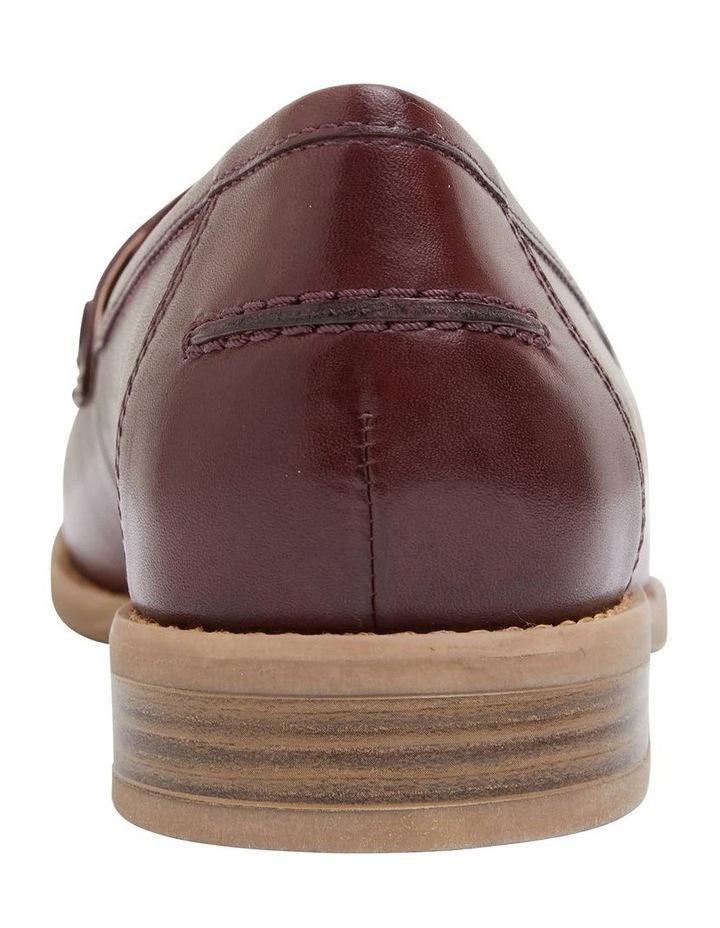 Gazebo Burgundy Glove Flat Shoes image 6