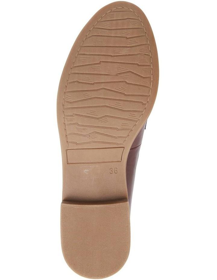 Gazebo Burgundy Glove Flat Shoes image 7