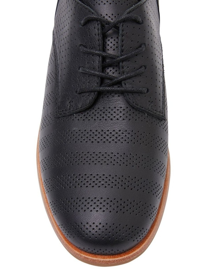 Nandy Black Glove Flat Shoes image 5