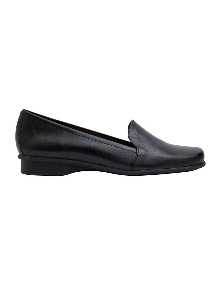 Knox Black Glove Flat Shoes image 1