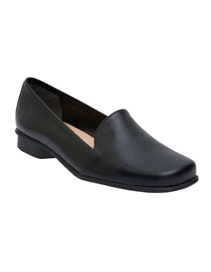 Knox Black Glove Flat Shoes image 2