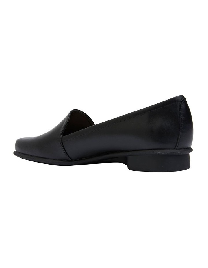 Knox Black Glove Flat Shoes image 6