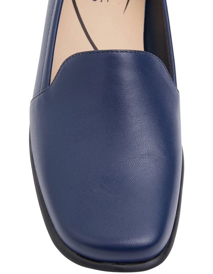 Knox Navy Glove Flat Shoes image 5