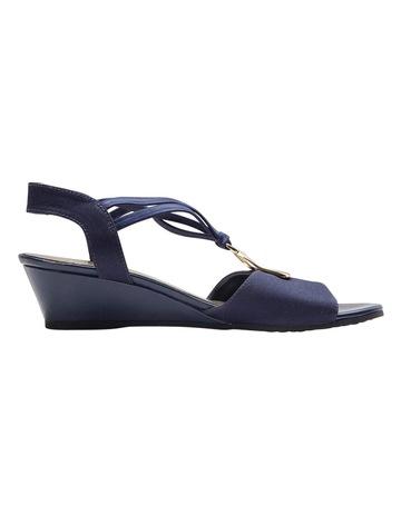 4be0756fe6d Easy Steps Cynthia Navy Fabric Sandal