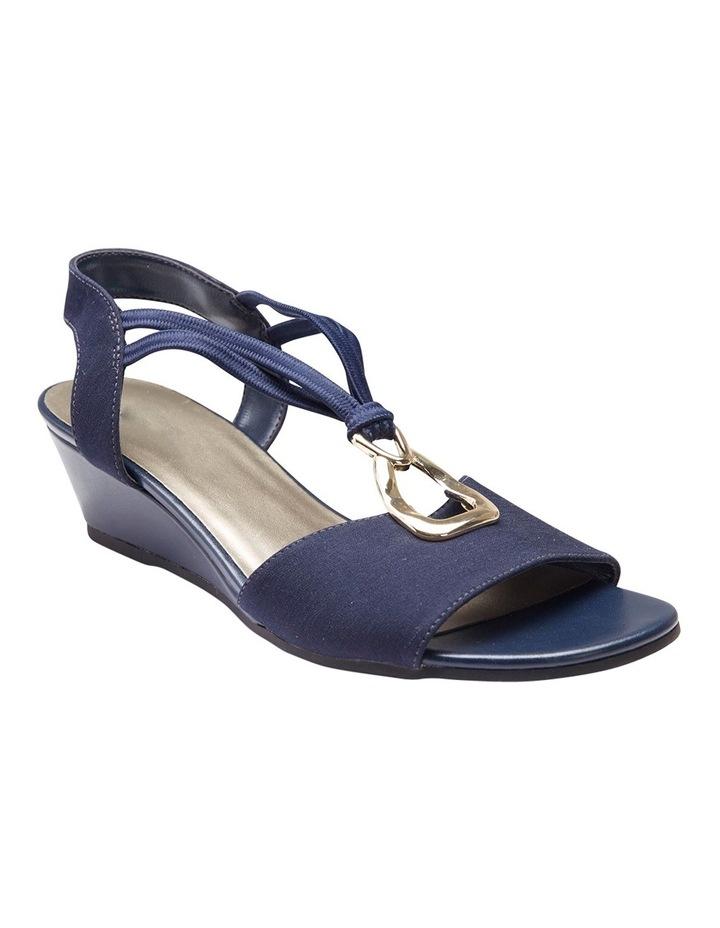 Cynthia Navy Fabric Sandal image 2