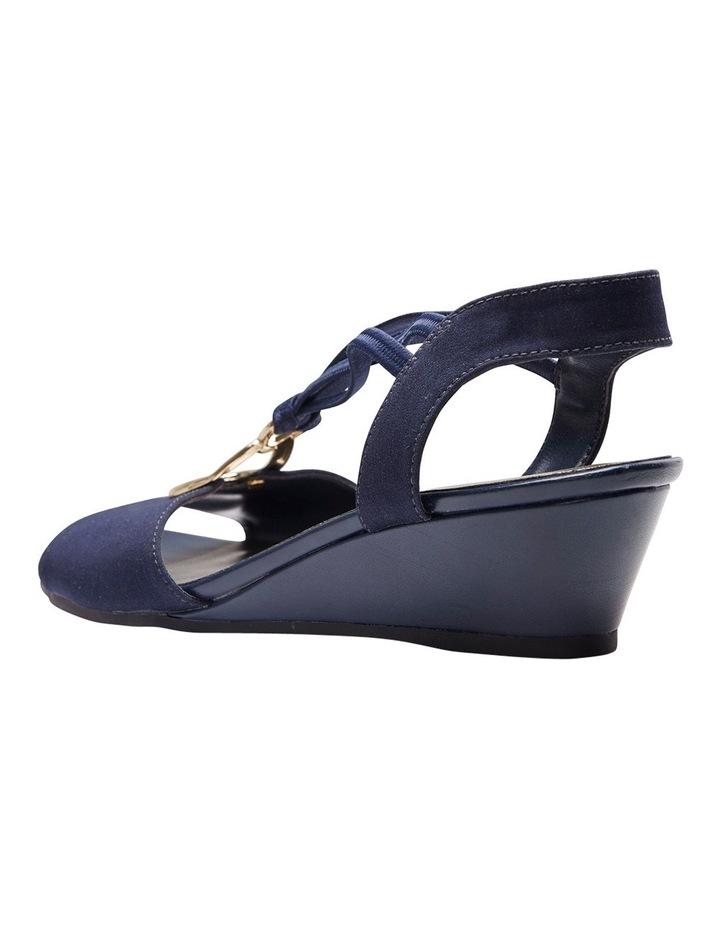 Cynthia Navy Fabric Sandal image 3