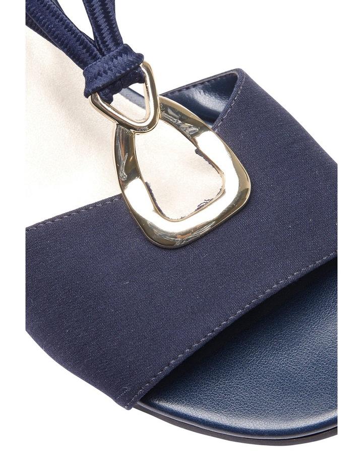 Cynthia Navy Fabric Sandal image 4