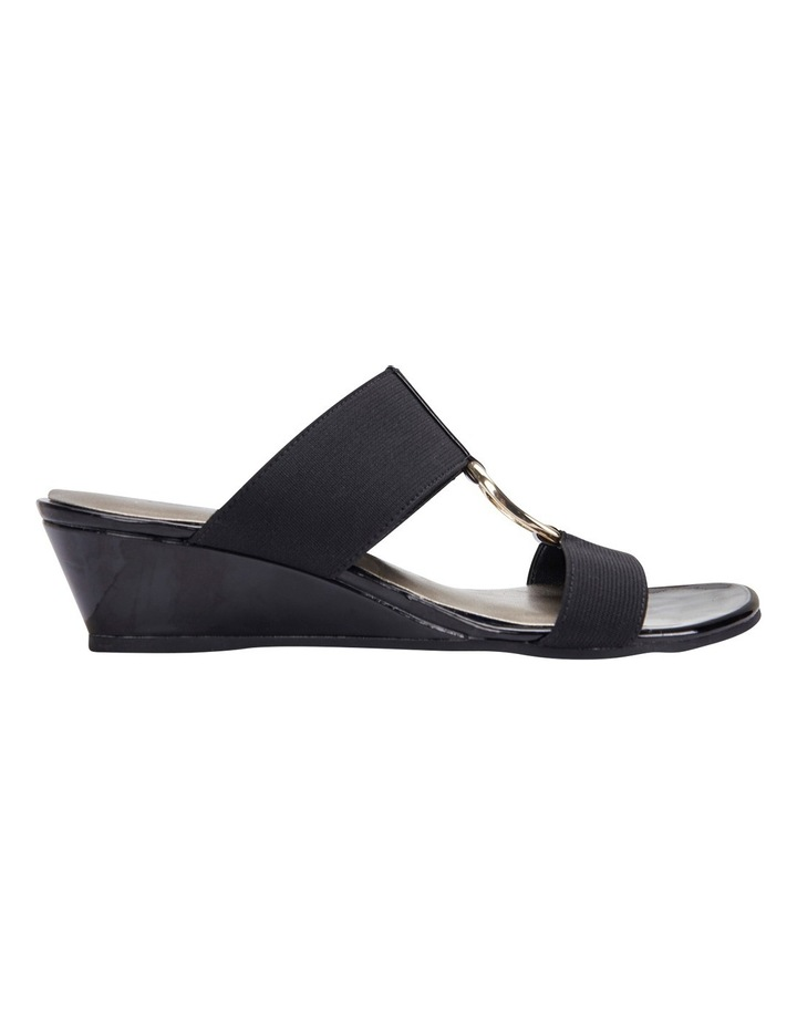 Claire Black Elastic Sandal image 1