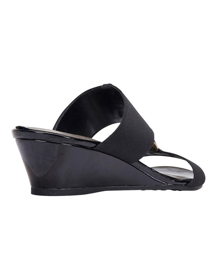 Claire Black Elastic Sandal image 3
