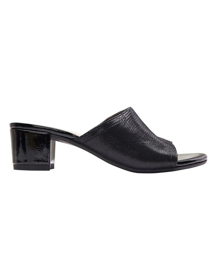Deluxe Black Print Sandal image 1