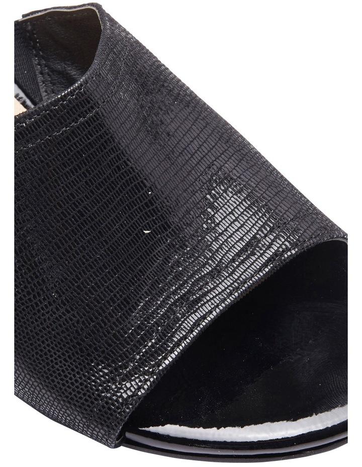 Deluxe Black Print Sandal image 4
