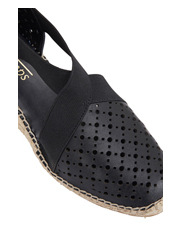 Easy Steps - Emma Black Glove Sandal