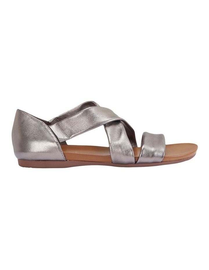 Abel Pewter Metallic Sandal image 1