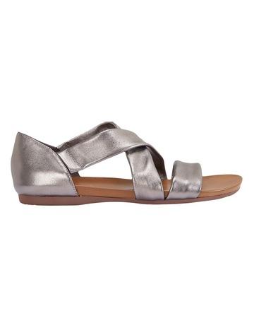 246147f242e1 Easy Steps Abel Pewter Metallic Sandal