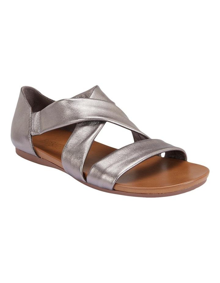 Abel Pewter Metallic Sandal image 4