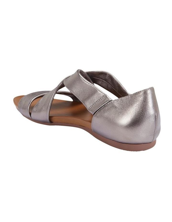 Abel Pewter Metallic Sandal image 5