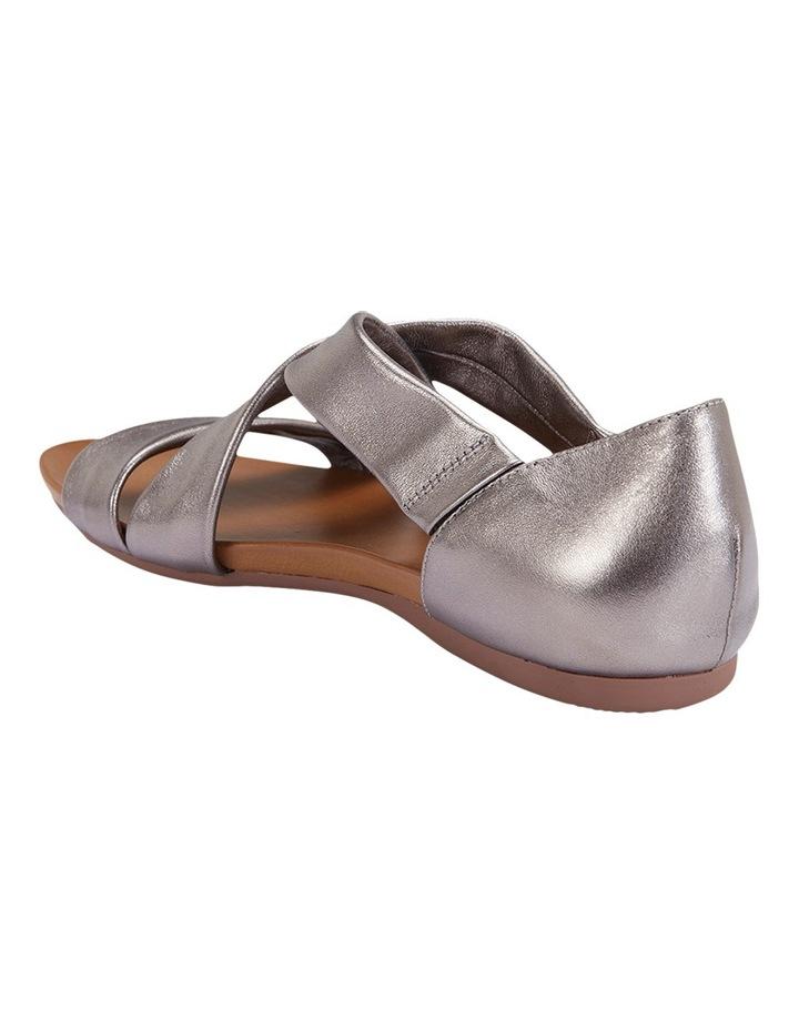 Abel Pewter Metallic Sandal image 6