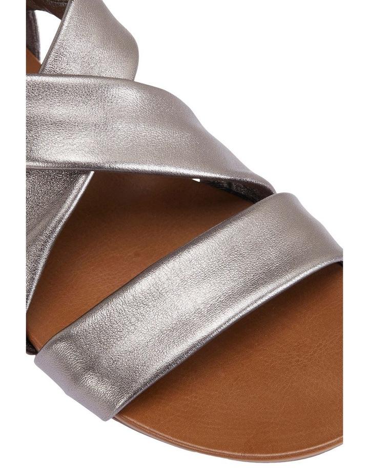 Abel Pewter Metallic Sandal image 7