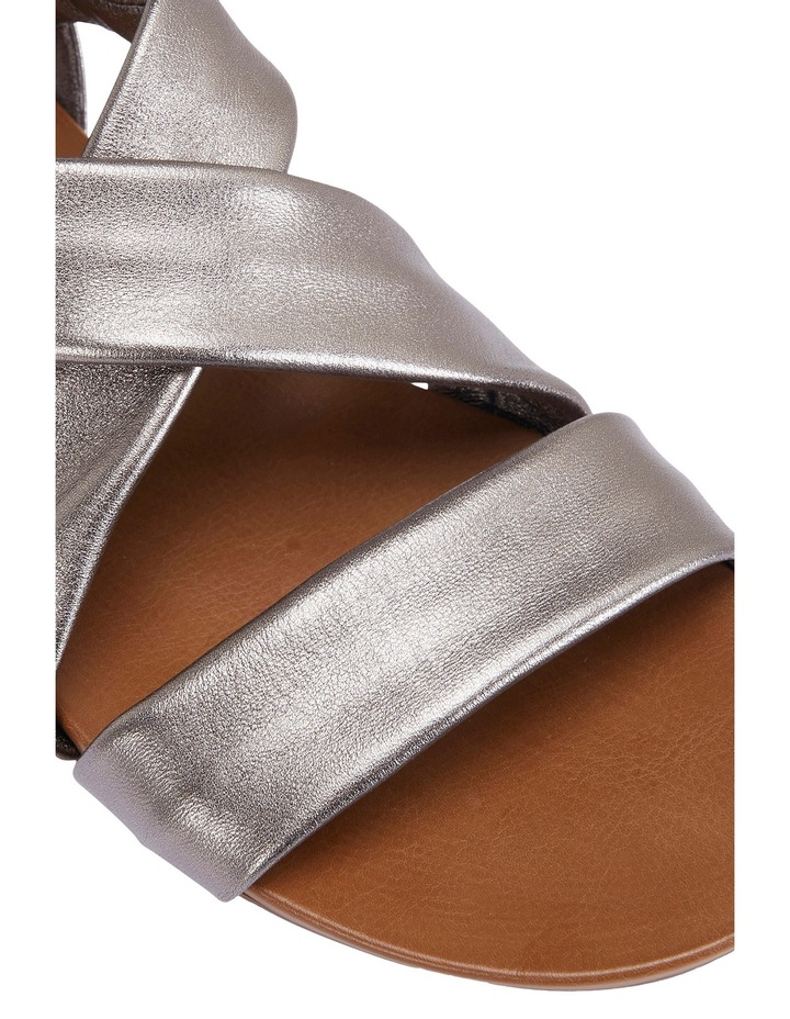 Abel Pewter Metallic Sandal image 8