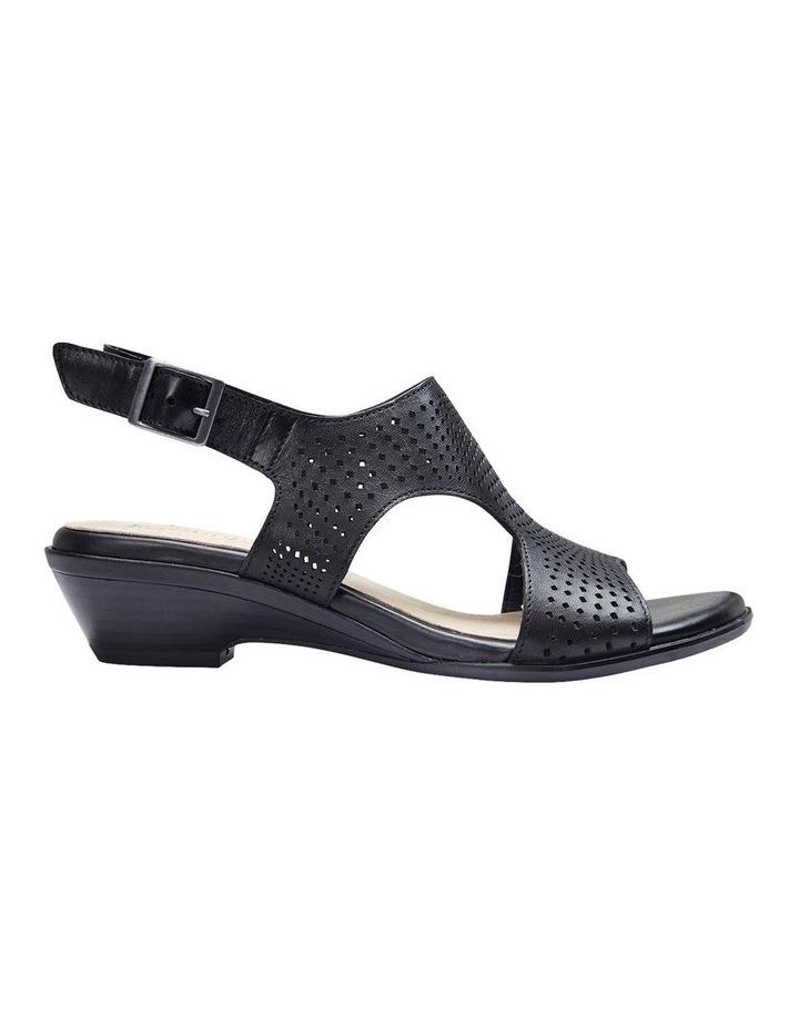 Carrie Black Glove Sandal image 1