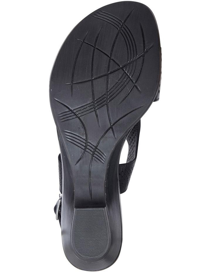 Carrie Black Glove Sandal image 4