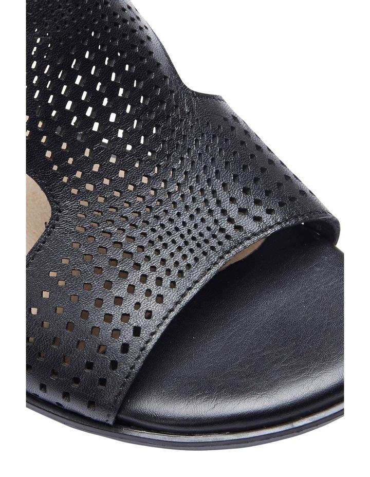 Carrie Black Glove Sandal image 5