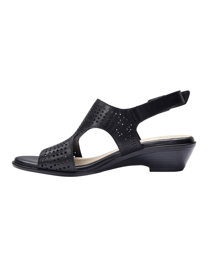 Carrie Black Glove Sandal image 13