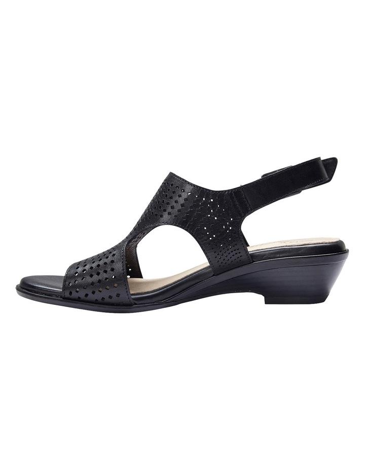 Carrie Black Glove Sandal image 7