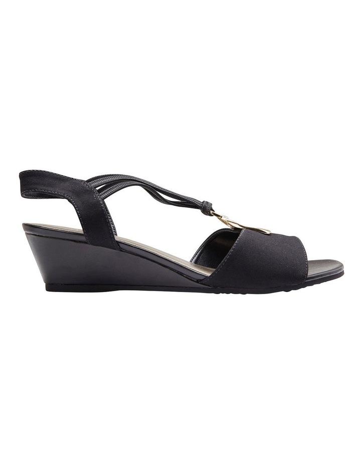 Cynthia Black Fabric Sandal image 2
