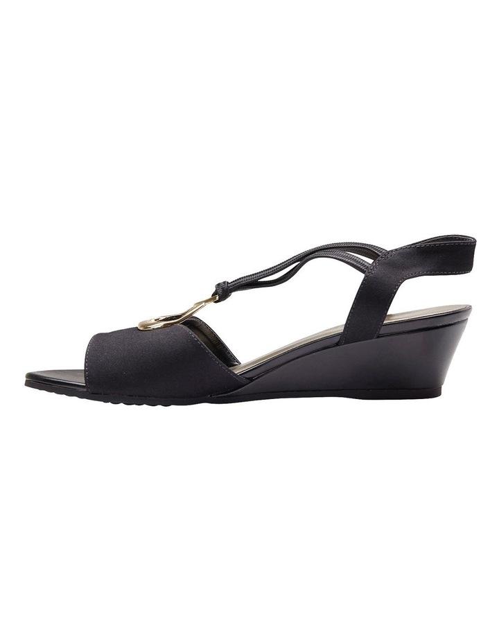 Cynthia Black Fabric Sandal image 6