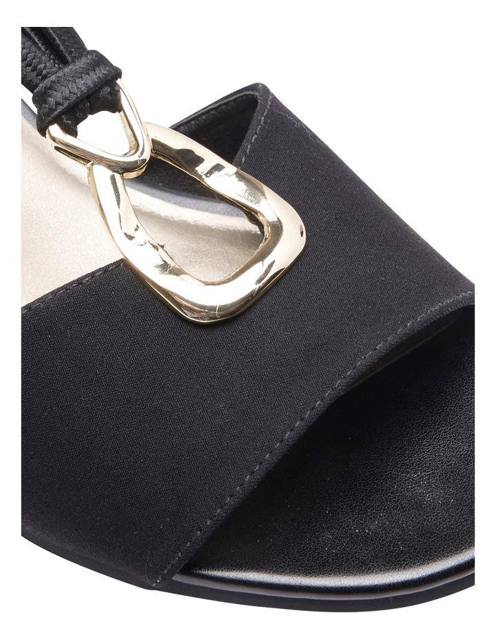 Cynthia Black Fabric Sandal image 14