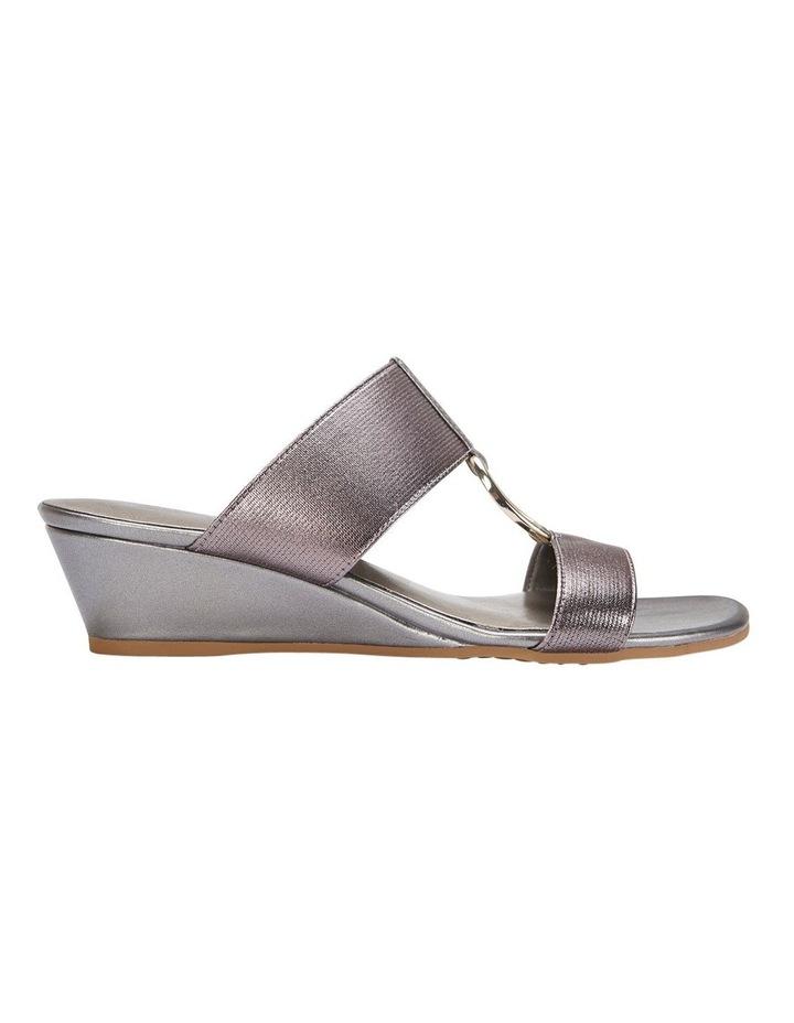 Claire Pewter Elastic Sandal image 1