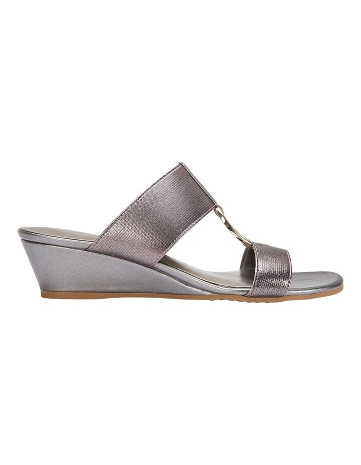 Claire Pewter Elastic Sandal image 2