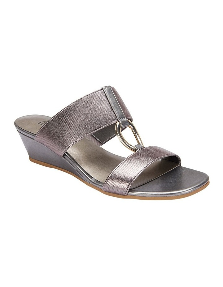 Claire Pewter Elastic Sandal image 3