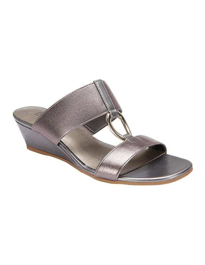 Claire Pewter Elastic Sandal image 4