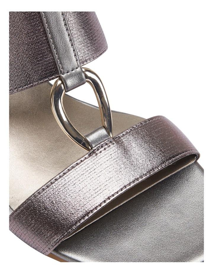 Claire Pewter Elastic Sandal image 6