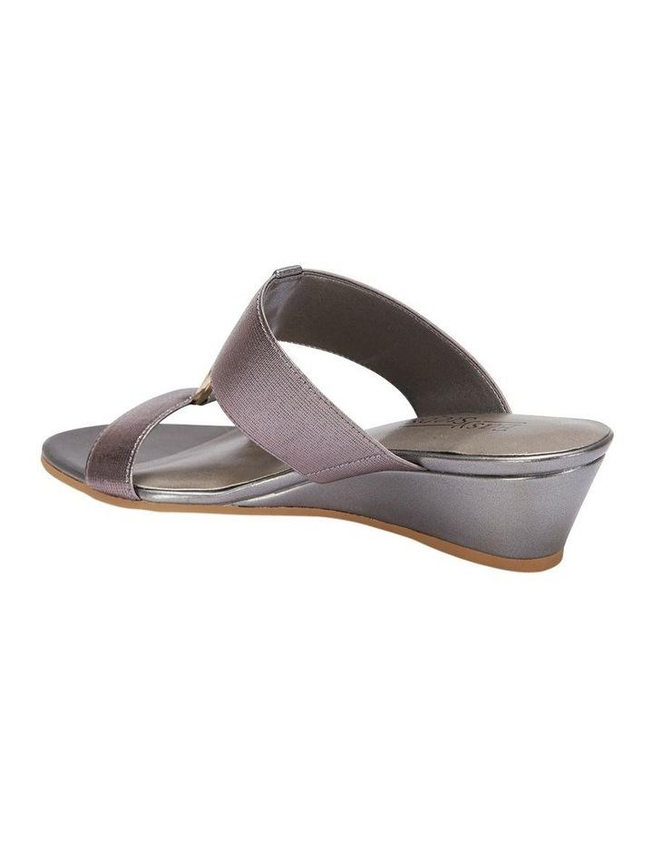 Claire Pewter Elastic Sandal image 7