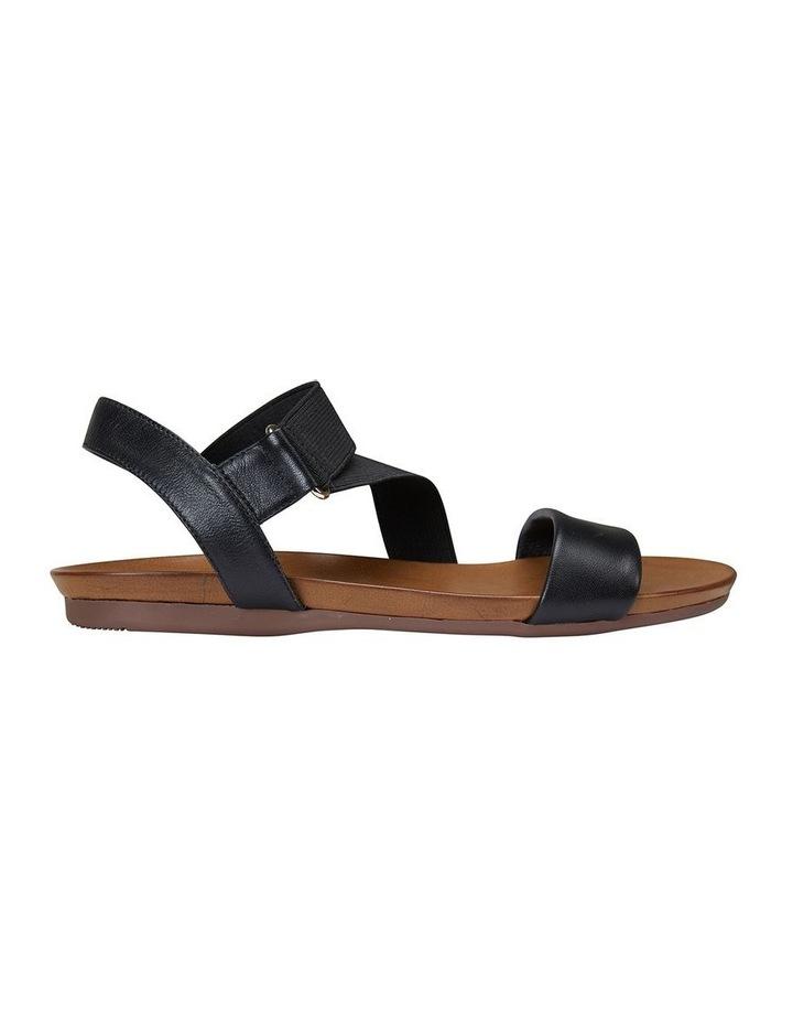 Amity Black Glove/Elastic Sandal image 1