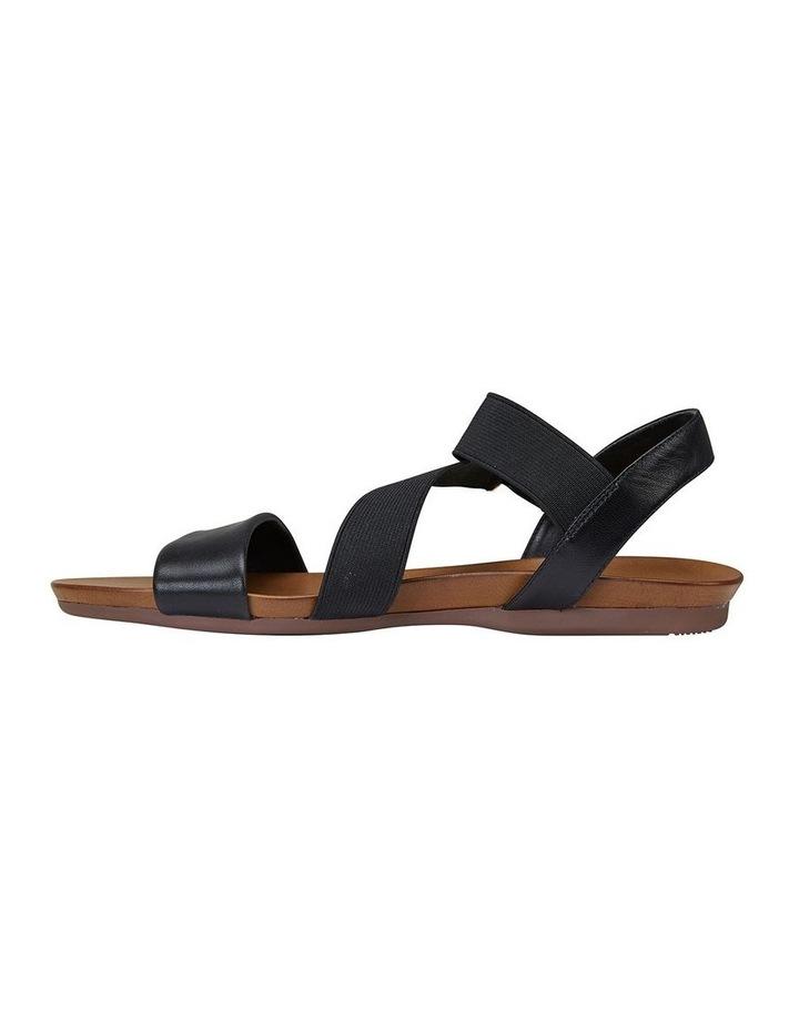 Amity Black Glove/Elastic Sandal image 3